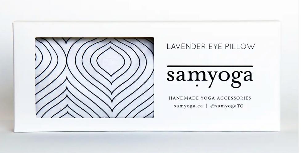 SamYoga Lavender Eye Pillow
