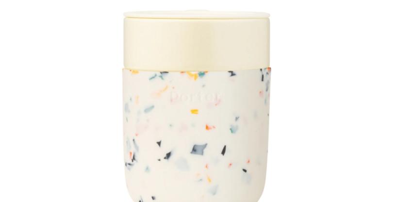 Ceramic Terrazzo Mug- Cream