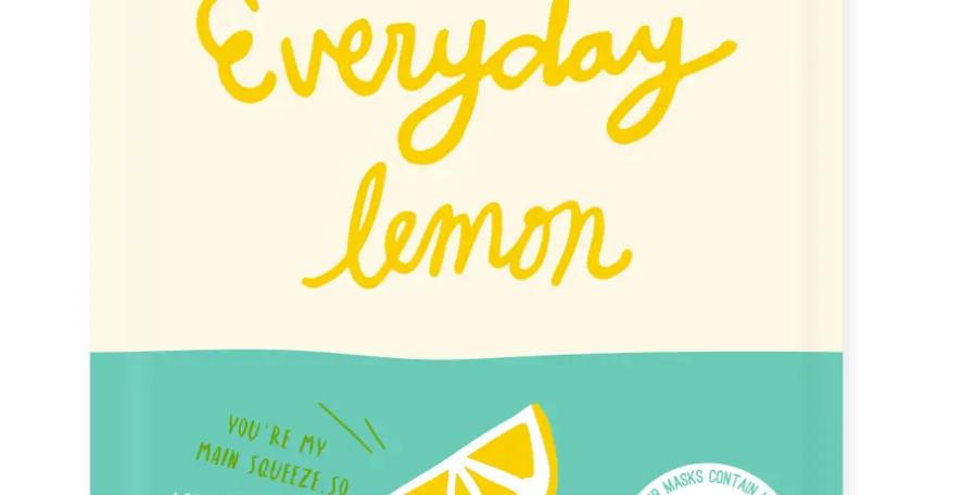 Facetory- Face Mask: Everyday Lemon Brightening Mask