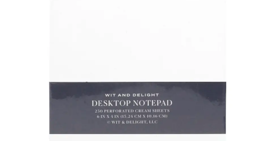 Wit+Delight Notepad