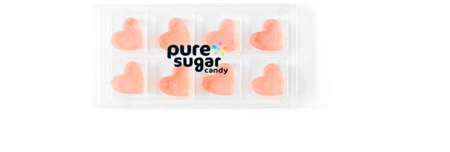 PURE SUGAR-ROSE' HEART CANDY