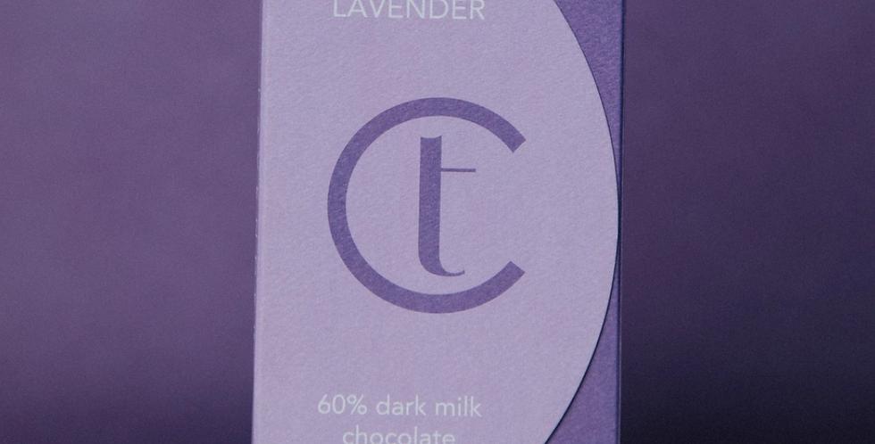 TERROIR CHOCOLATE- LAVENDER DARK MILK
