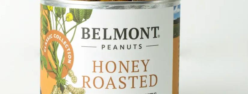 Belmont Peanuts- Honey Roasted
