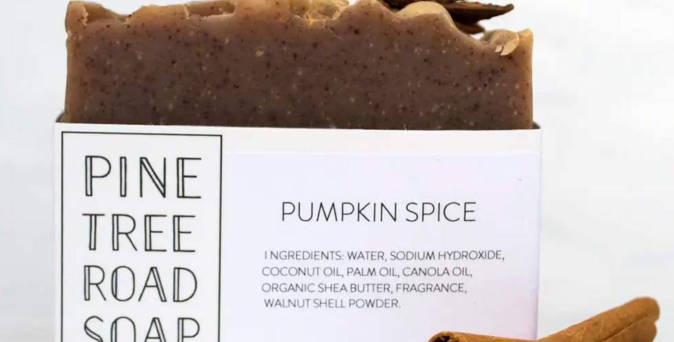 Pine Tree Road Soap-Pumpkin Spice Soap Bar