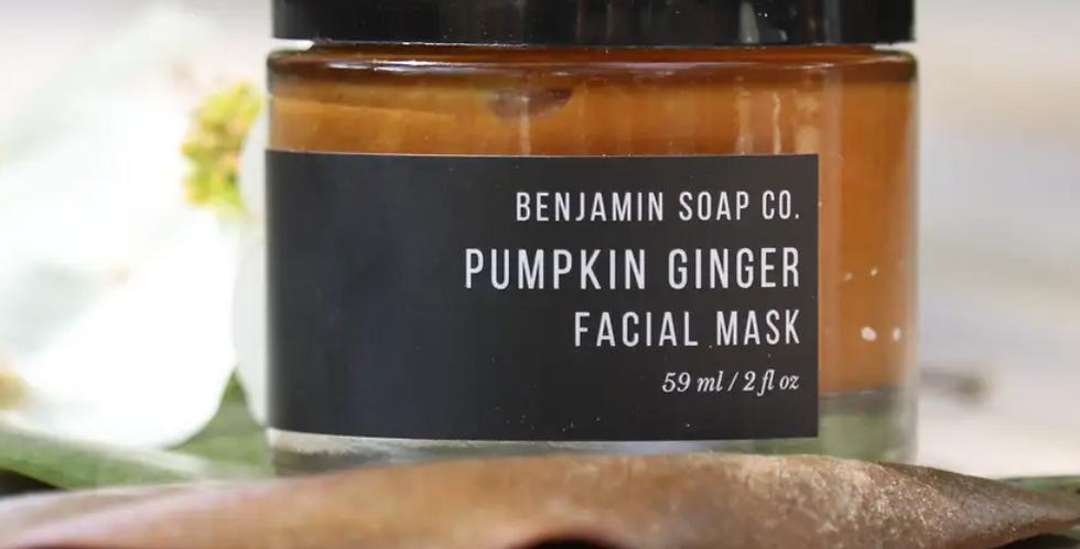 Benjamin Soap Co.-Pumpkin Ginger Facial Mask