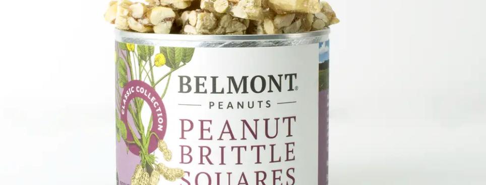 Belmont Peanuts- Peanut Brittle Squares