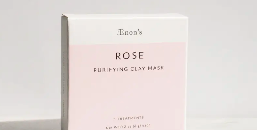 Aenon's Rose Purifying Clay Mask
