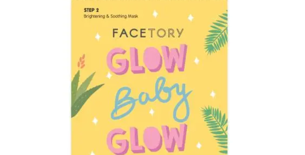 Facetory- Face Mask: Glow Baby Glow