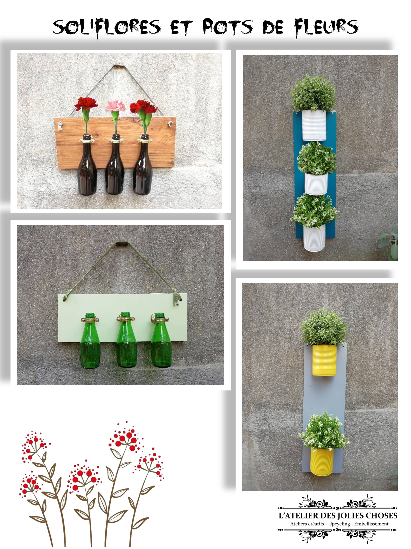 Soliflores, pots de fleurs...