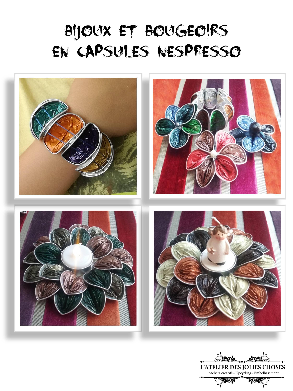 Bijoux en capsules de café