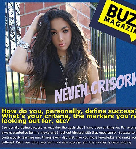 Thank you @mybuzzmag for interviewing my