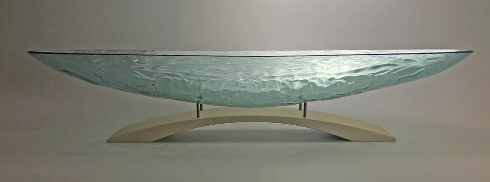40 Inch Ocean Breeze Oval with Arch Pedestal