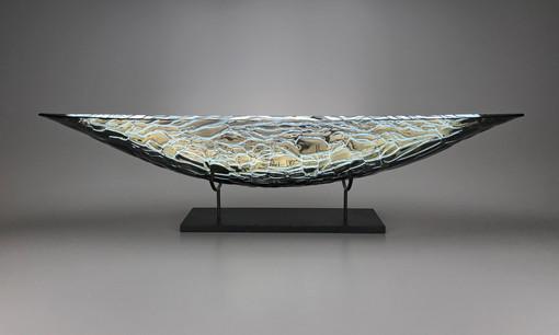 36 Inch London Fog Boat Granite Pedestal