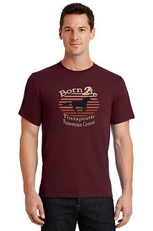 Short Sleeve T Shirt Maroon
