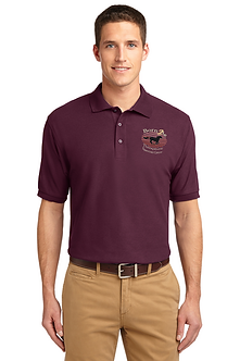 Mens Polo Maroon