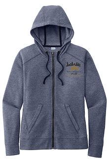Sport-Tek® Ladies PosiCharge Tri-Blend Wicking Fleece Full Zip Hooded Jacket