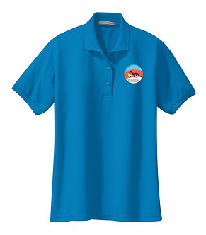 Men's regular polo style K500 with embroidered logo