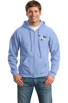 Full Zip Hoodie Sweatshirt
