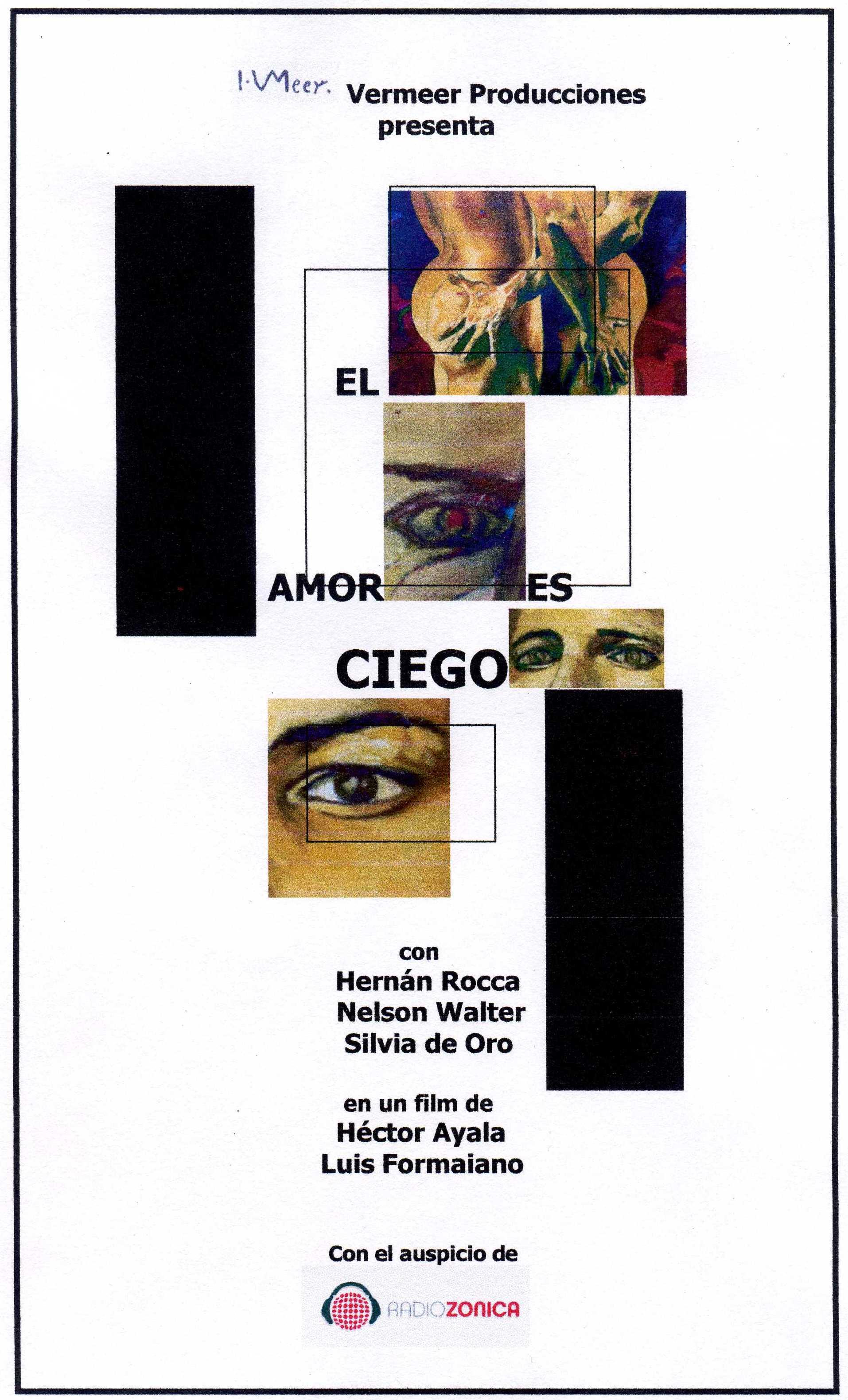 POSTER EL AMOR ES CIEGO MODIF