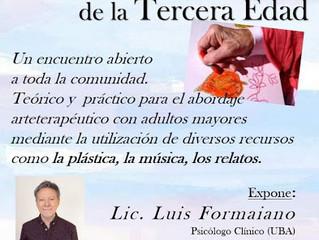 """Seminario """"LOS DESAFÍOS DE LA TERCERA EDAD"""" Cómo abordarlos desde el Arteterapia"""