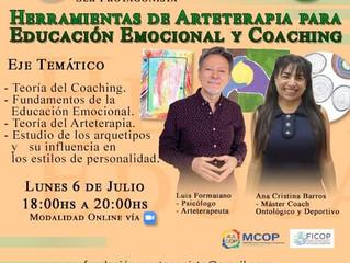 HERRAMIENTAS DE ARTETERAPIA PARA LA EDUCACIÓN EMOCIONAL Y EL COACHING
