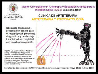 SEMINARIO CLÍNICA DE ARTETERAPIA EN MADRID