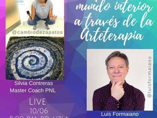 EXPLORA TU MUNDO INTERIOR A TRAVÉS DE LA ARTETERAPIA (Instagram Live)