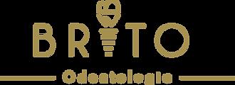Brito Odonto Logo Principal Dourada.png