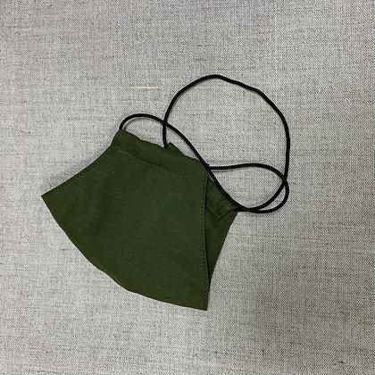 Зелёная маска из хлопка