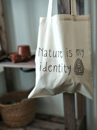 Шопер «Nature is my identity»