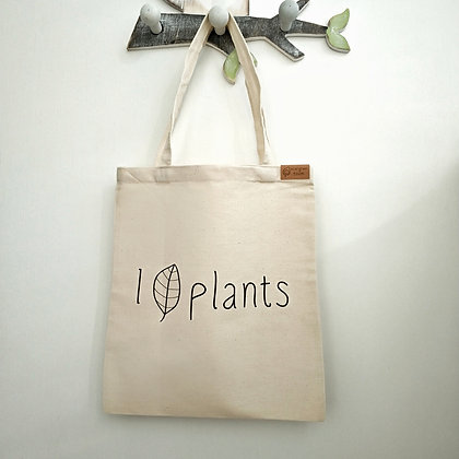 "Шопер ""I love plants"""