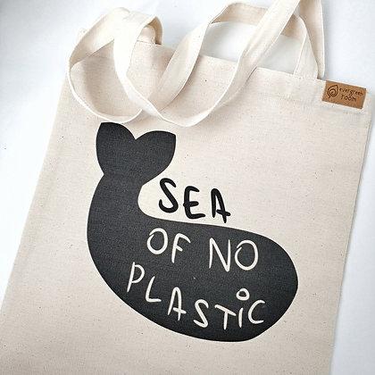 """Шопер """"Sea of no plastic»"""