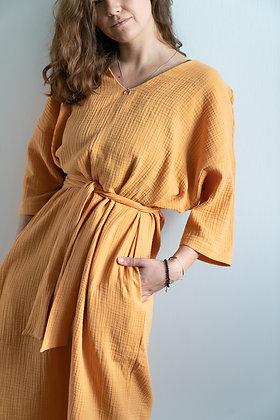 Платье 'Охра'