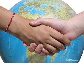 Terre et mains