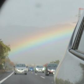2021.2.15(月)雨と虹とブルース