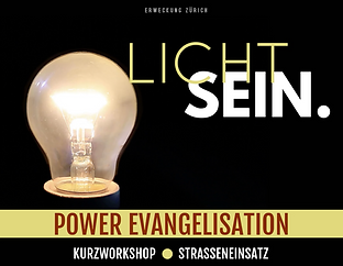 Light Bulb Power Evangelisation