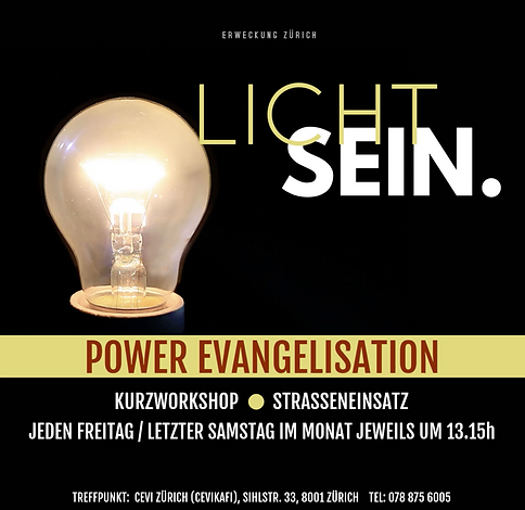 Power Evangelism Zürich