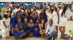 Our Diamonds at Induction Ceremony
