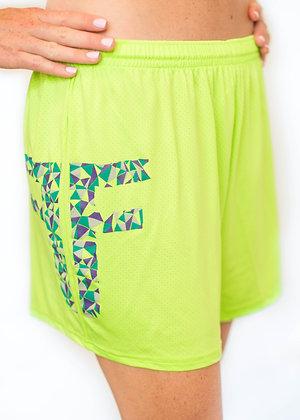 Green FF Shorts