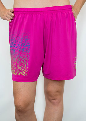 Pink Tribal Shorts