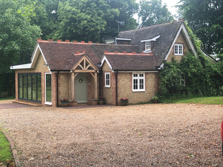 Extension and Interior Remodel of Pretty Tandridge Lodge