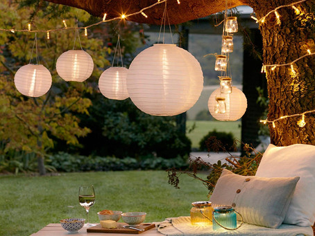 Get ready for outdoor socialising! Make the most of your exterior space…