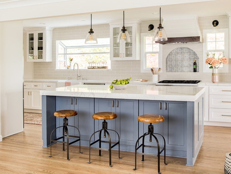 Kitchen Island vs Open Scullery