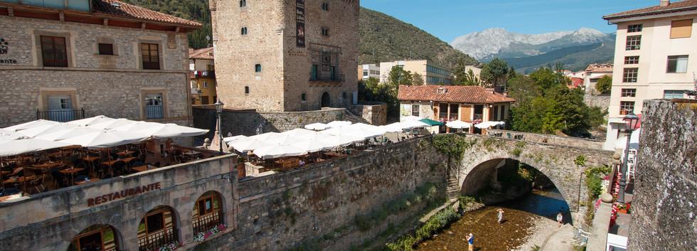 Potes, capital of Liébana
