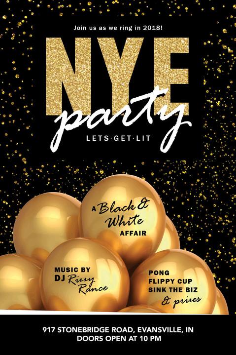 NYE Party, Invitation