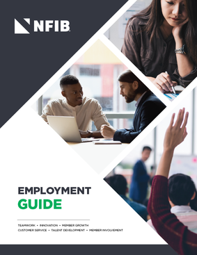 NFIB Employment Guide Cover