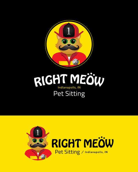 Right Meow Pet Sitting Branding