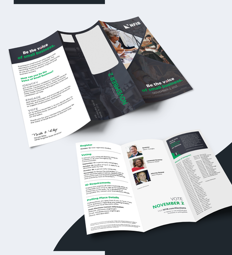 NFIB Voter Guide Trifold Brochure