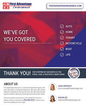 First Advantage Insurance Email Graphic