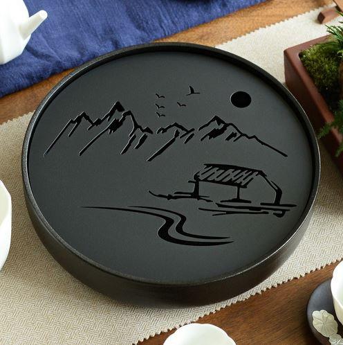 Keramik Metal Tee Zubereitungsset Kung Fu Style